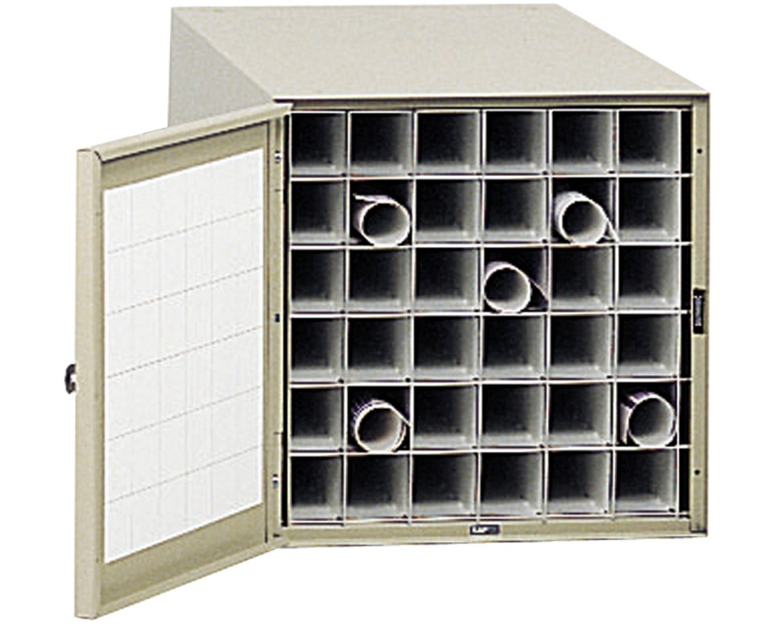 Safco Steel Roll File 38in 36 Compartment 4962