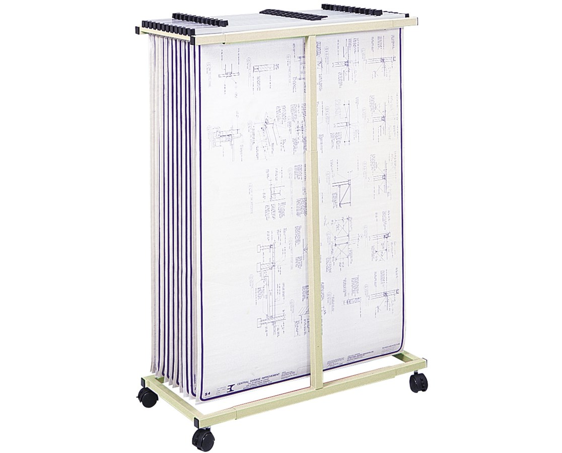 Safco Mobile Vertical Steel File SAF5059