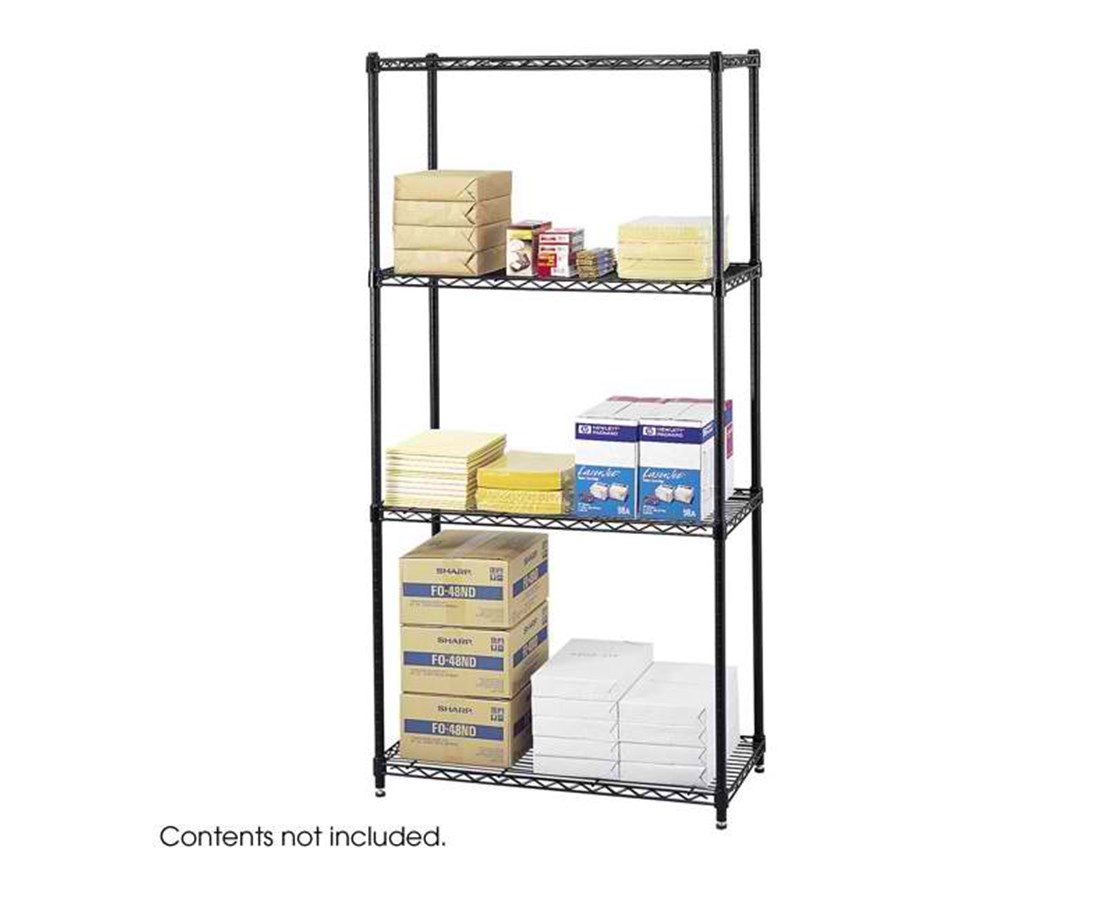 """Safco Commercial Wire Shelving, 36 x 18"""" SAF5276BL"""