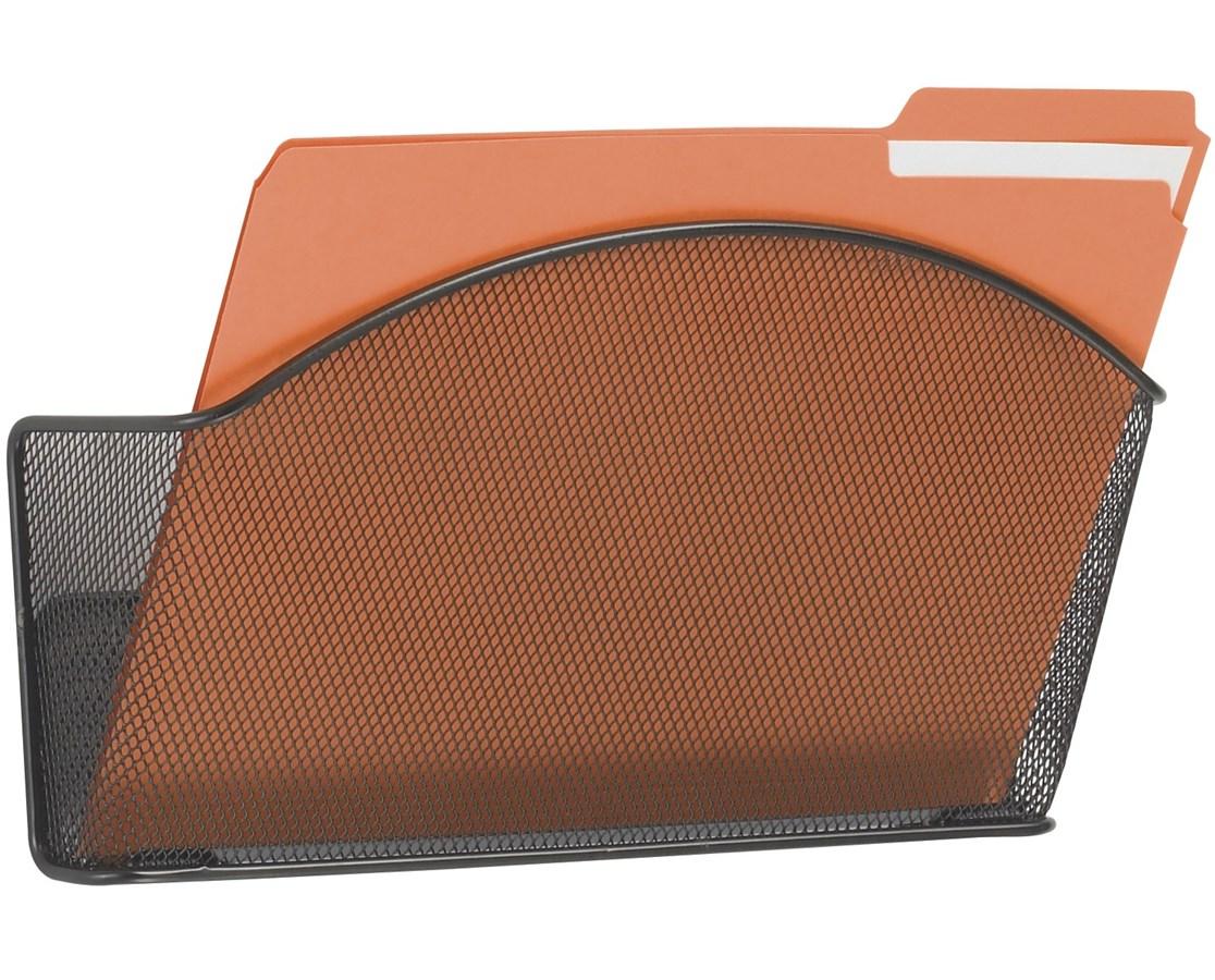 SAFCO5651BL-Onyx™ Letter-Size Rack (Qty.6) Black SAF5651BL