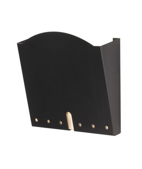 SAFCO5654BL-HIPAA Wall Pocket (Qty.6) Black SAF5654BL