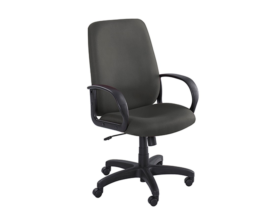 Safco Poise High Back Executive Office Chair 6300BL