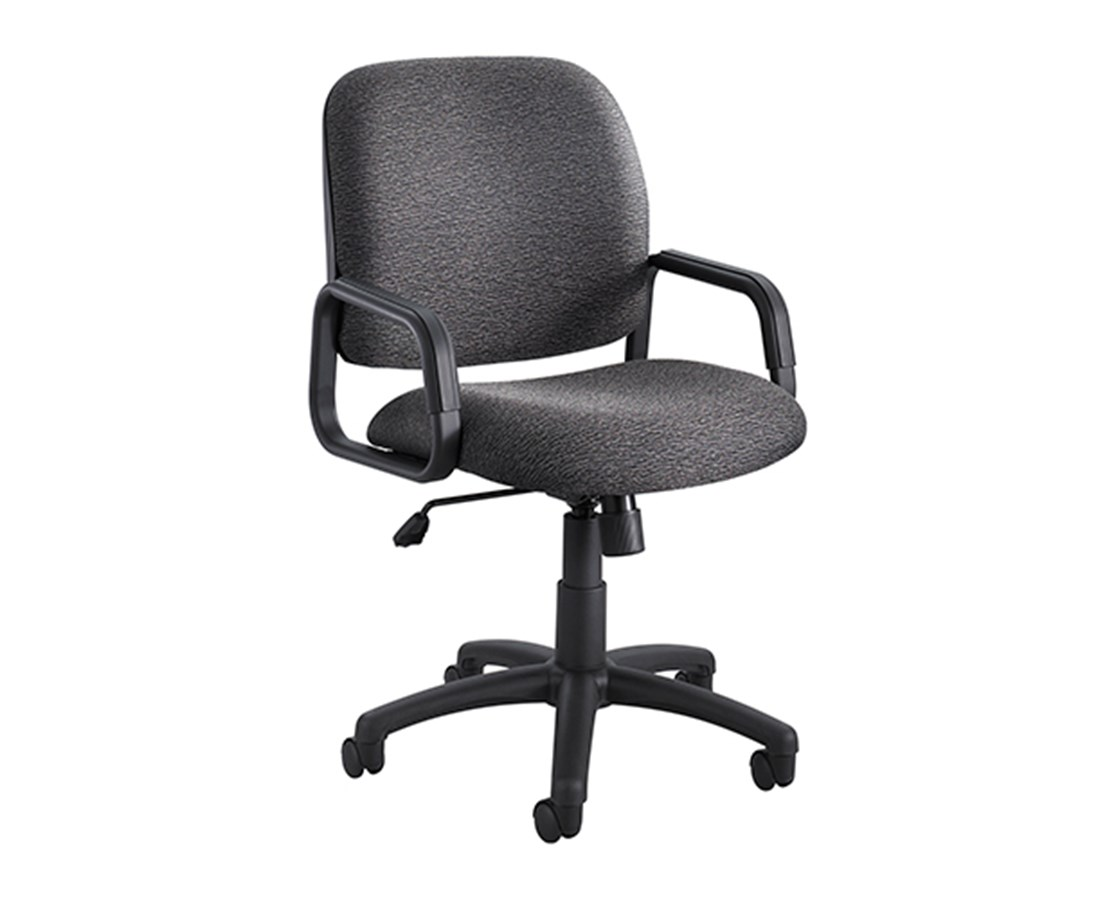 Safco Cava Urth High Back Office Chair 7045BL