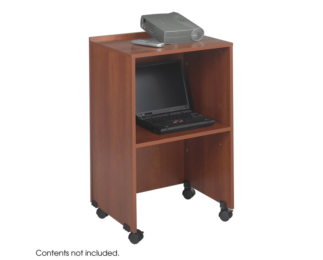 SAFCO8917-Lectern Base/Media Cart SAF8917