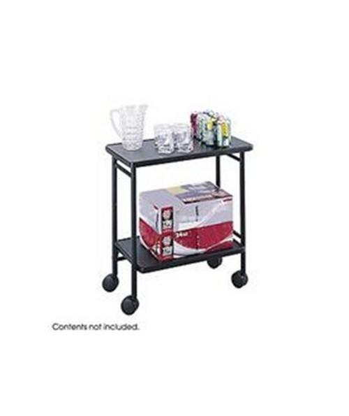 SAFCO8965BL-Folding Office Cart Black SAF8965BL
