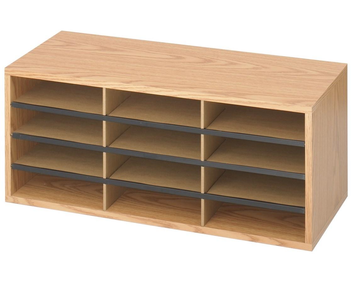 Safco Wood/Corrugated Literature Organizer SAF9401