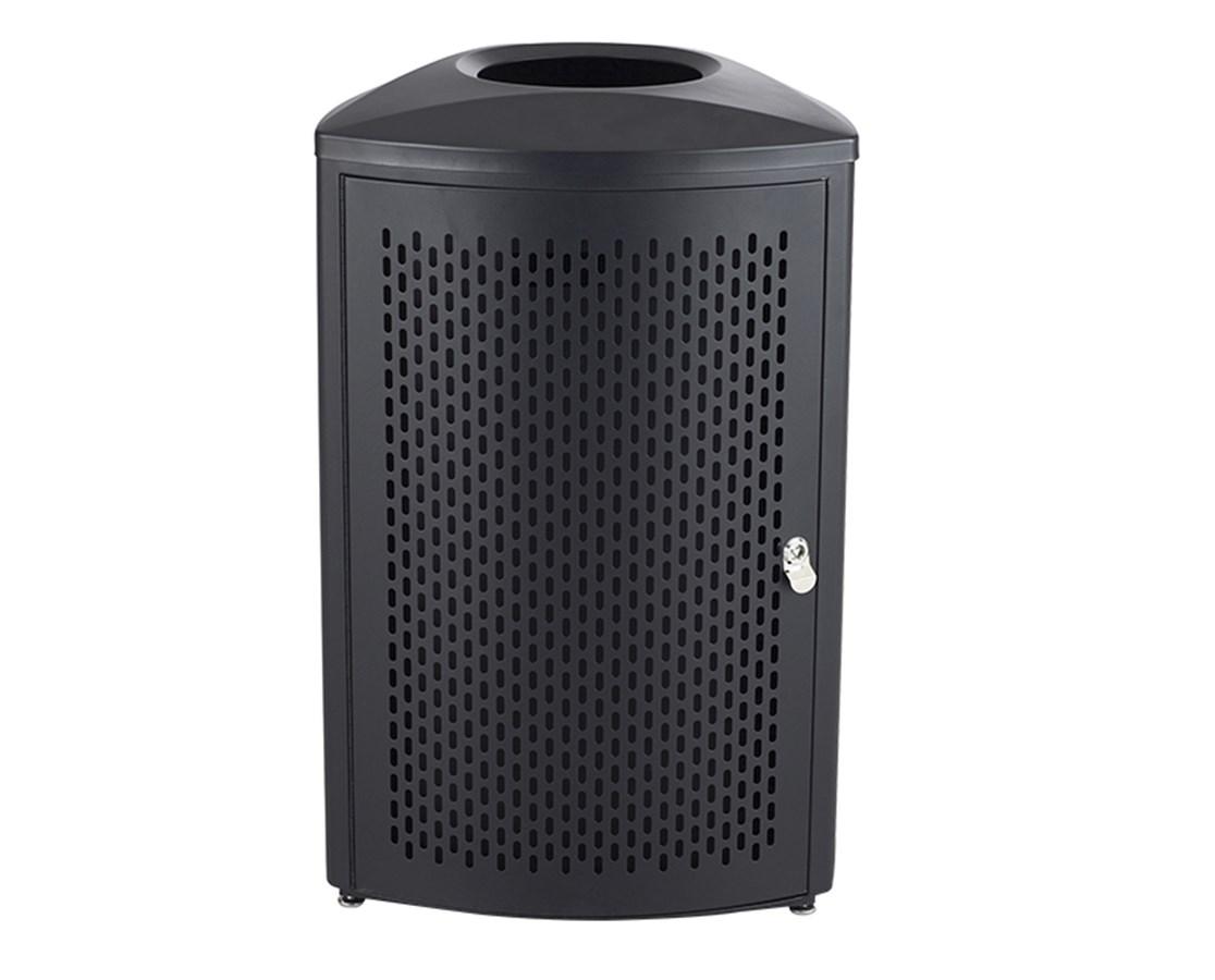 Safco Nook Indoor Waste Receptacle SAF9961BL-