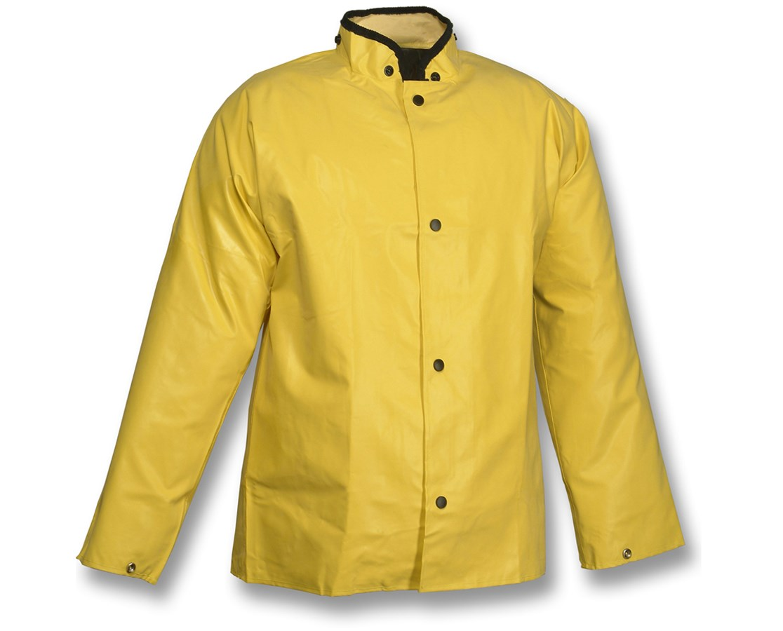Flame Resistant Liquidproof Jacket Yellow