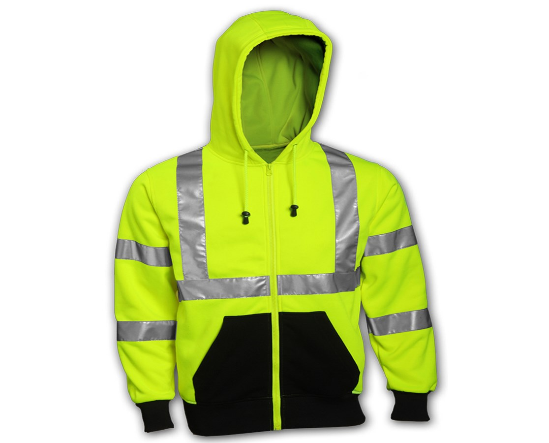 Class 3 Hooded High Visibility Sweat-shirt