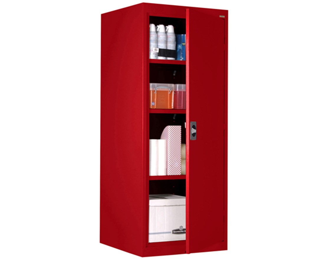 Sandusky Lee Single Door Elite Storage Cabinet with Recessed Handle SANEA3R242460-00