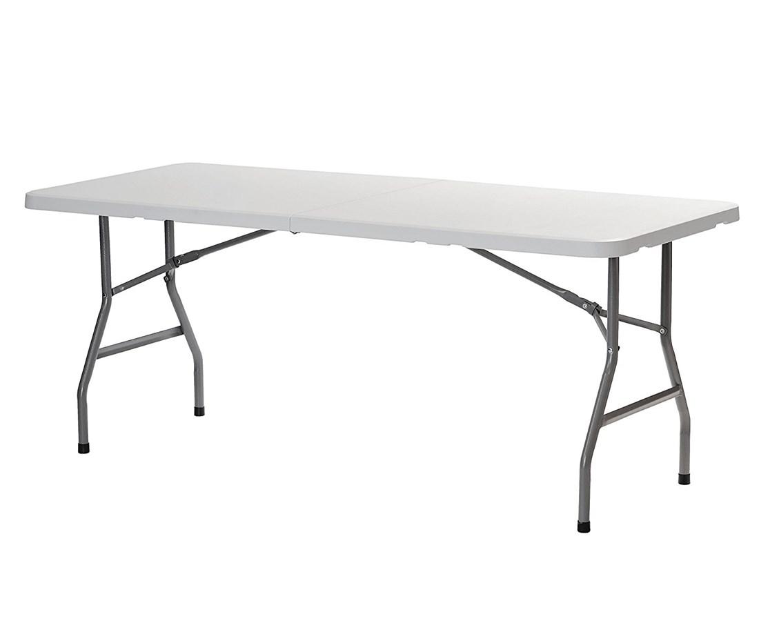 Sandusky Lee Fold-in-Half Plastic Table SANFPT7230