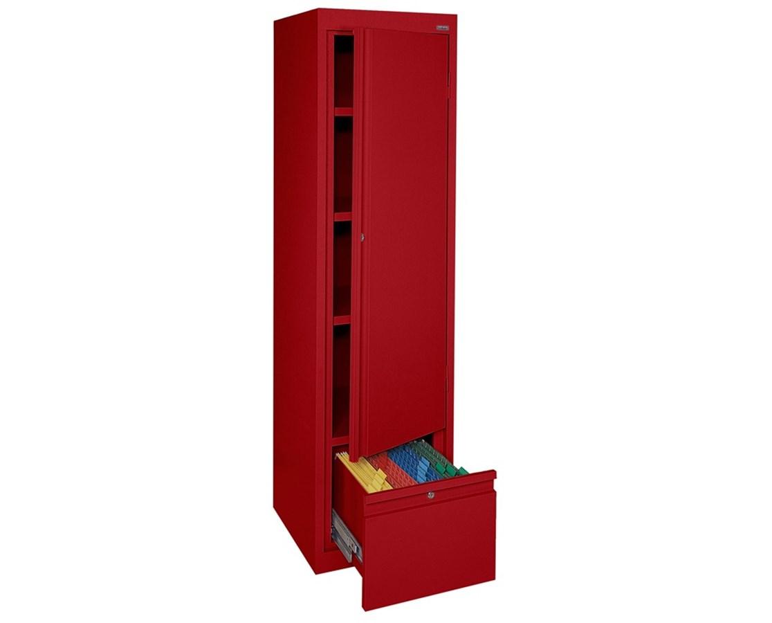 Sandusky Lee System Series Cabinet with Drawer SANHADF171864-01-