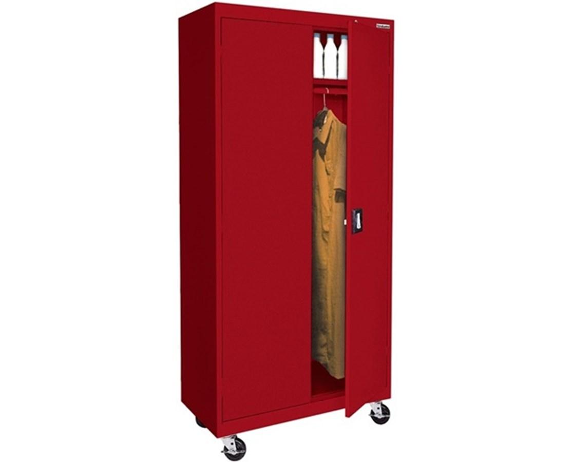 Sandusky Lee Transport Mobile Wardrobe Cabinet SANTAWR362472-01-