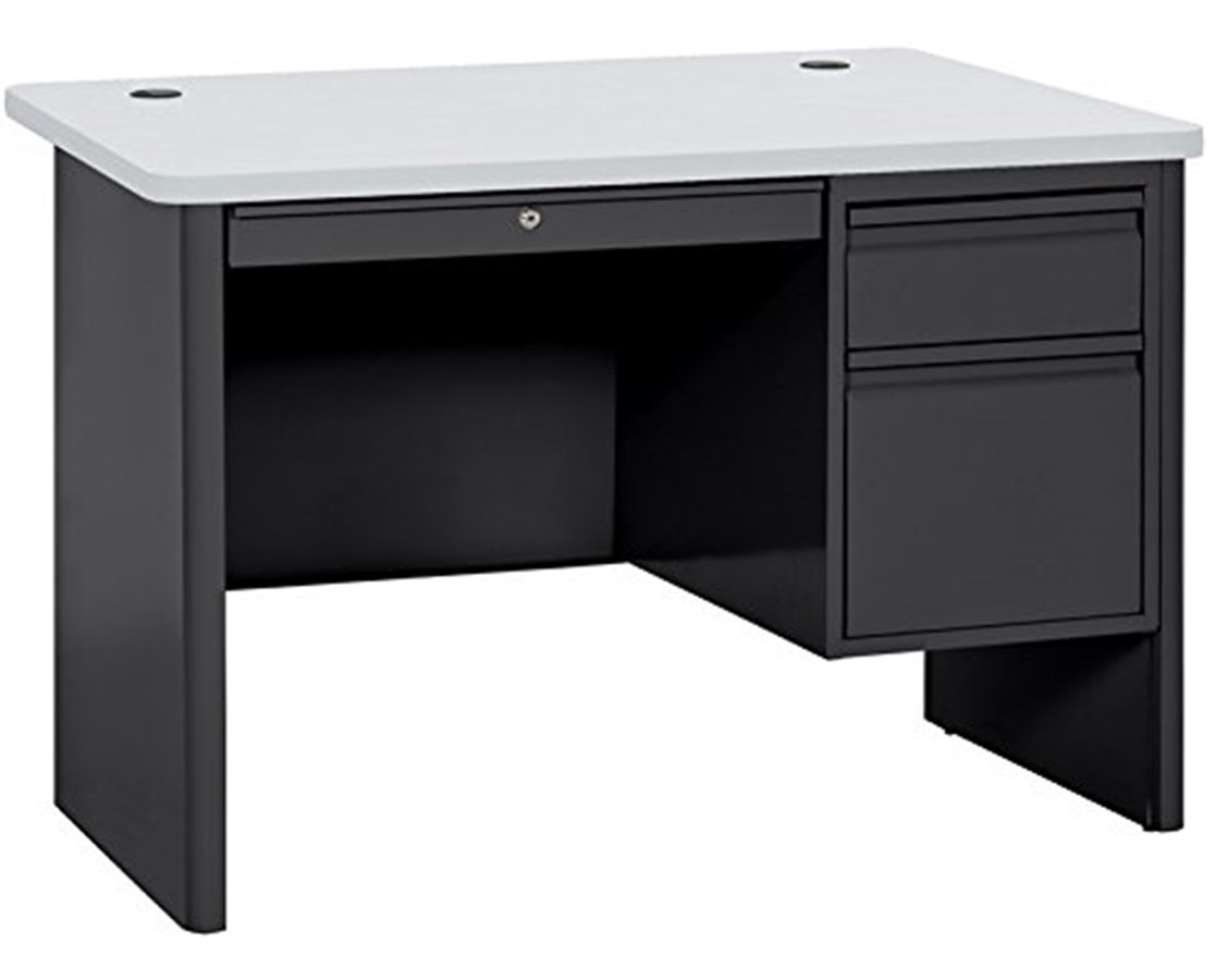 Sandusky Lee 700 Series Heavy-Duty Teachers Desk SASP704830-BGN