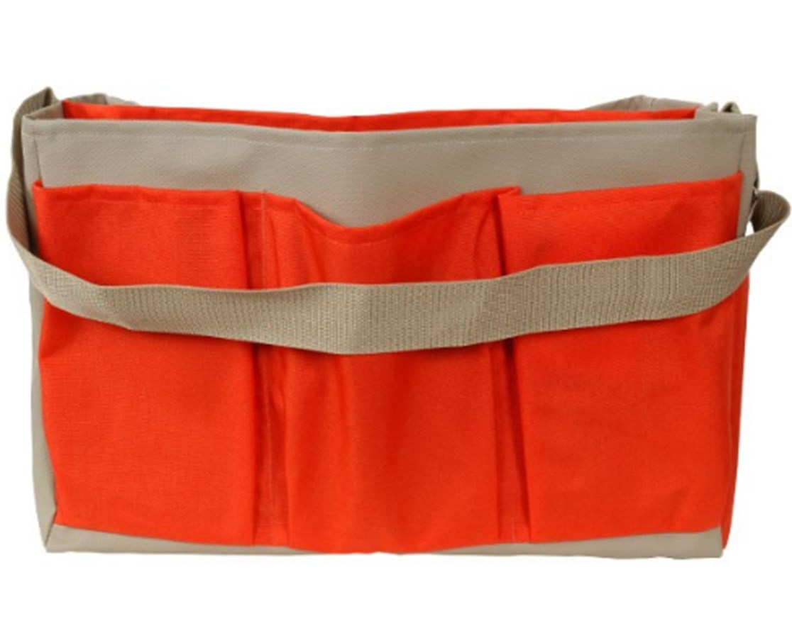 Seco 18-inch Stake Bag with Center Partition SEC8091-20-ORG