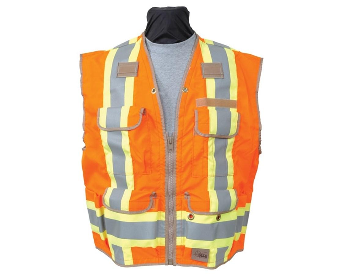 Seco 8260-Serries Class 2 Surveyors Utility Vest SEC8260