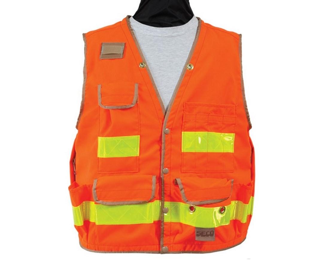 Seco 8063-Series Surveyors Utility Vest / Meets ANSI/ISEA Class 2 SECO8063