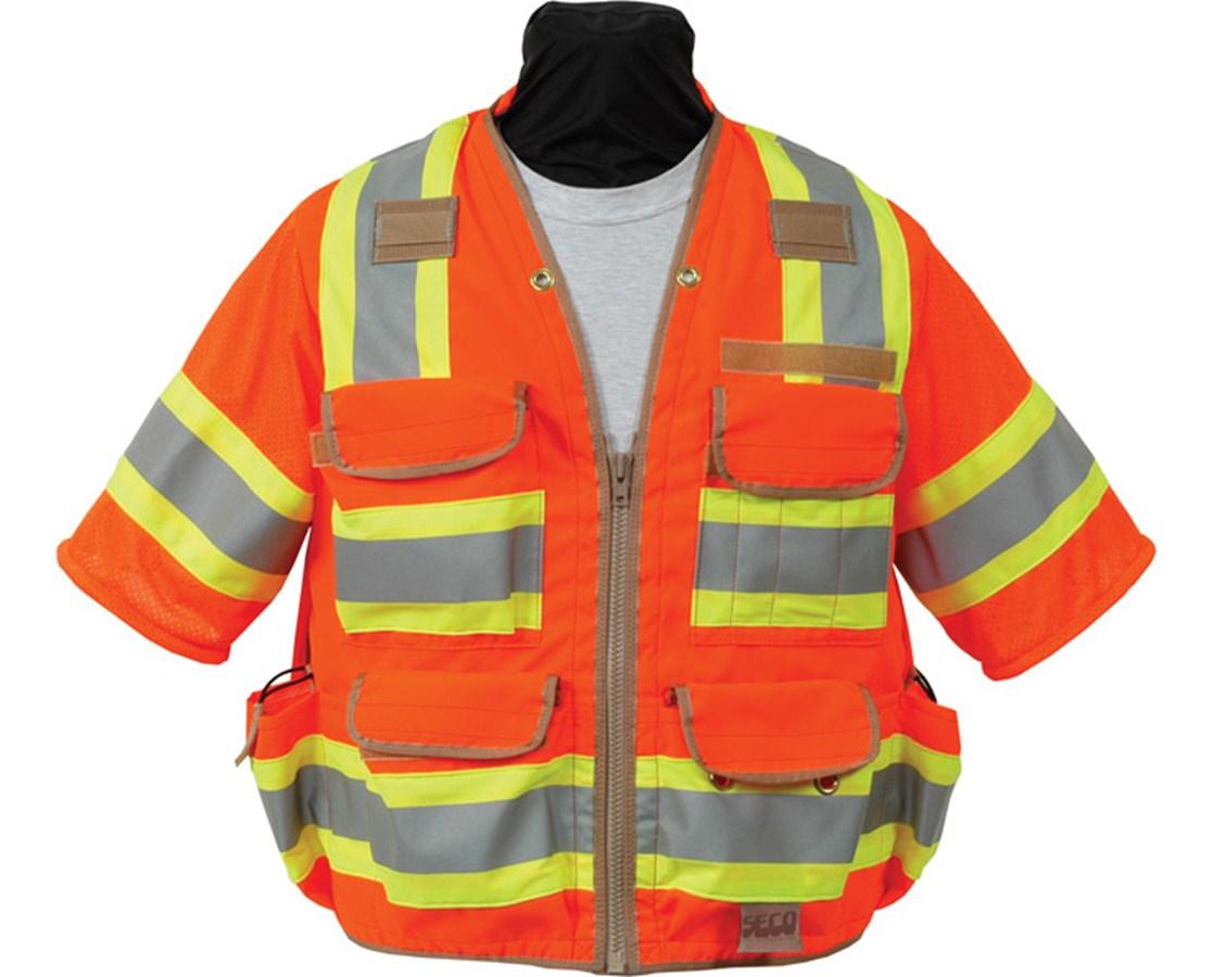 Seco 8368-Series Surveyors Utility Vest / Meets ANSI/ISEA Class 3 SECO8368