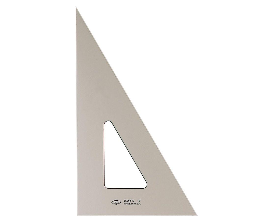 ALVIN Smoke-Tint Triangles 30/60 14 SK360-1400
