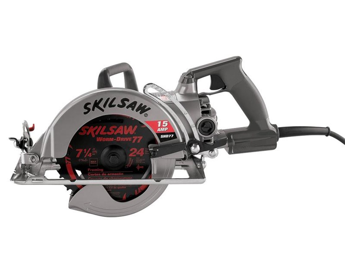 """Skil SHD77-72 7-1/4"""" Worm Drive Skilsaw with Twist Lock SKISHD77-72"""