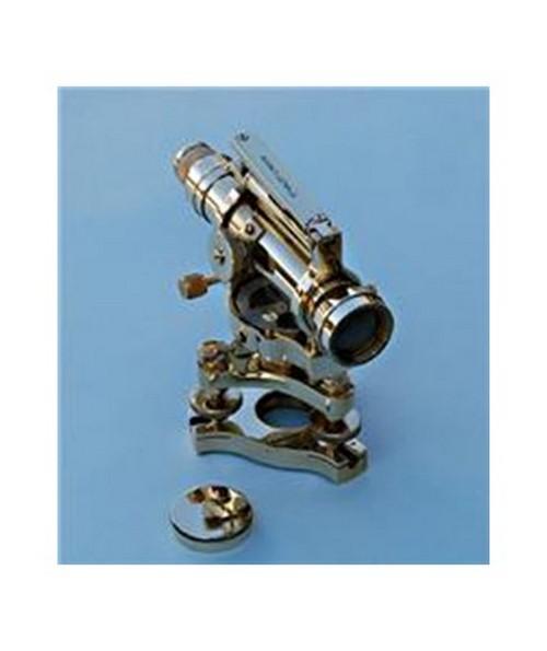 Large Solid Brass Dumpy Level (Precision Engineer's Transit) SLLSBDL