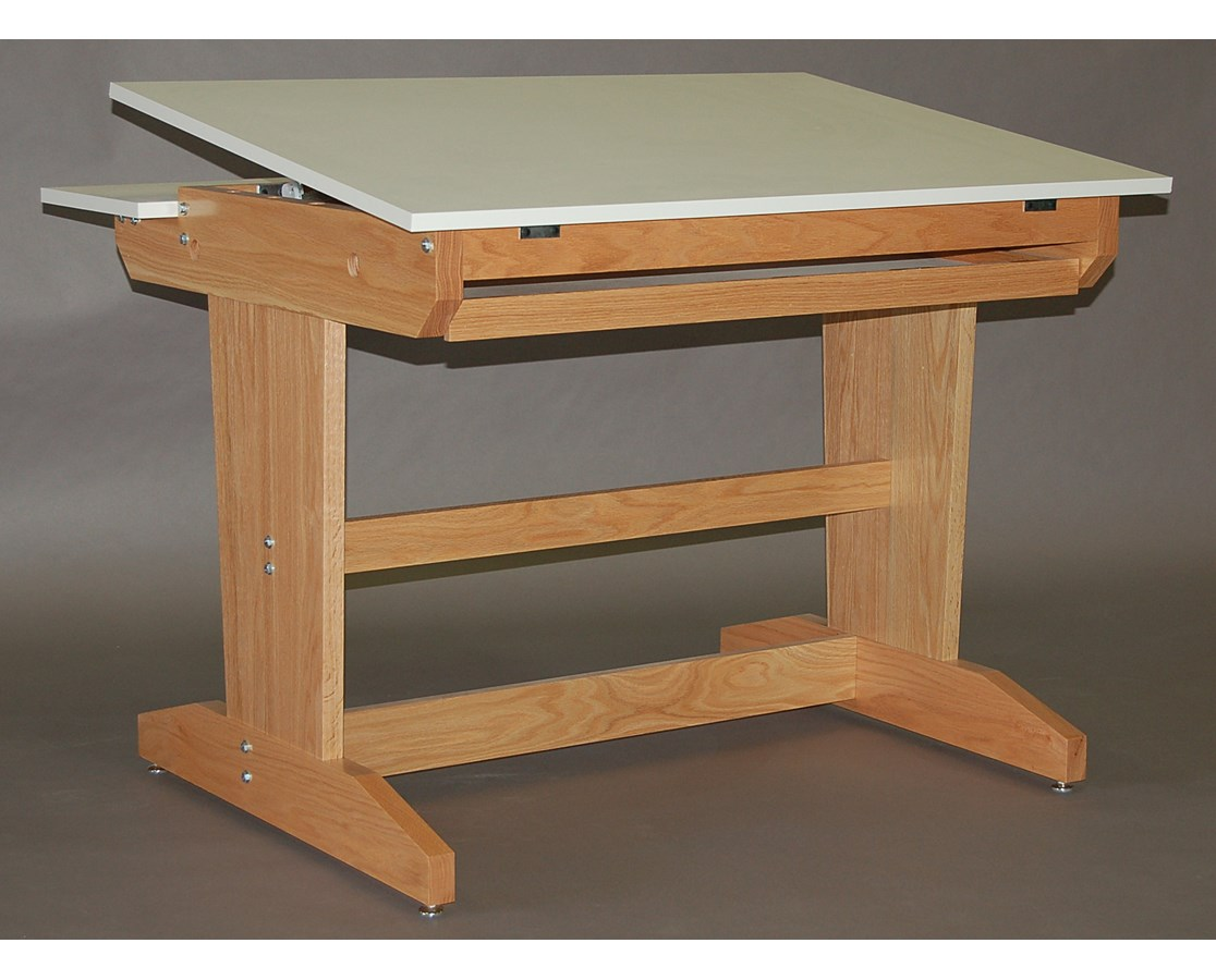 SMI PD Oak Drawing and Art Table F3942 AW30