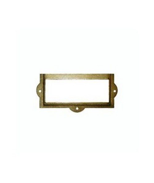 SMI Brass Label Holder CRHD B