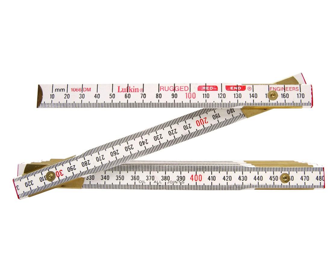 6' Red End Engineer's Rule, HD 120575