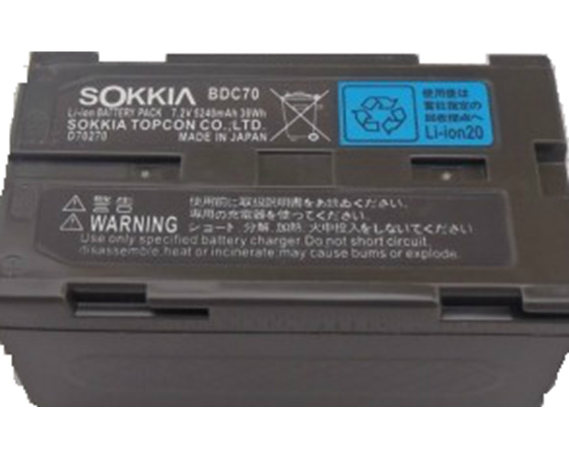 Sokkia BDC7 NiCD Battery SOK210160287