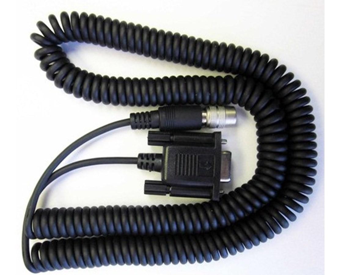 Sokkia DB9 (9-Pin) to SET (Hirose) Standard Coiled Instrument Cable SOK551050