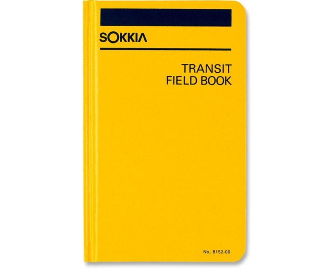 Sokkia 815200 Transit Field Book (4-1/2 x 7-1/4 in.) SOK815200