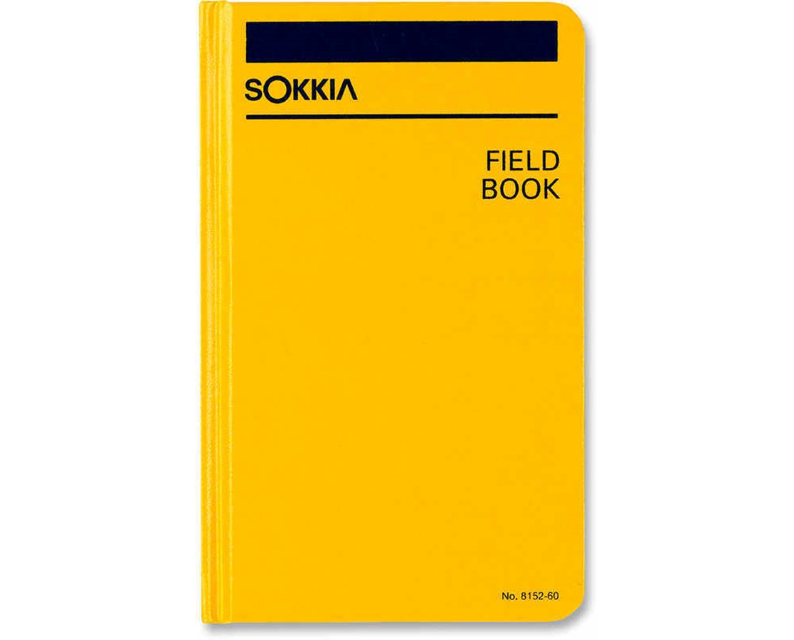 Sokkia 815260 Field Book (4-1/2 x 7-1/4 in.) SOK815260