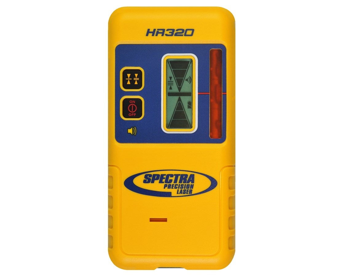 Spectra HR320 Laser Detector with C59 Rod Clamp