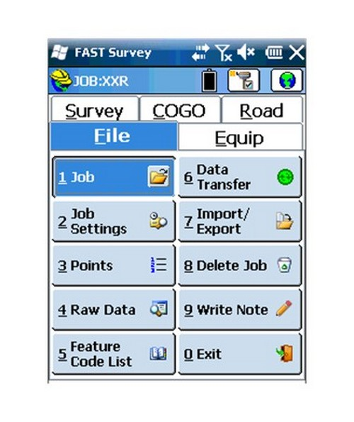 Spectra FAST Survey Field Software SPE990645