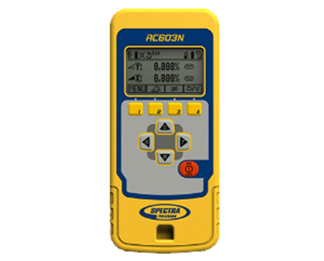 RC603 Remote Control for Spectra UL633 Grade Laser SPERC603