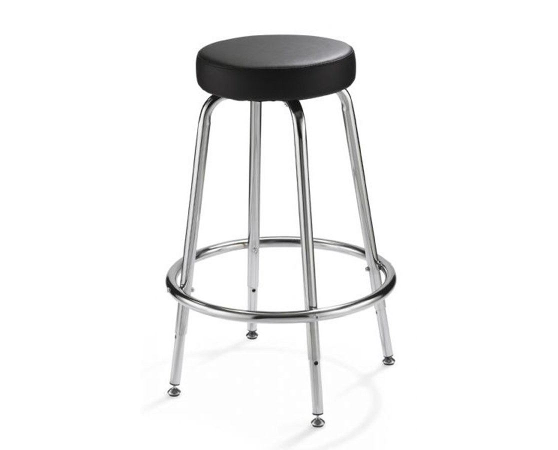 Alvin Spacesaver Adjustable height Stool SSAS
