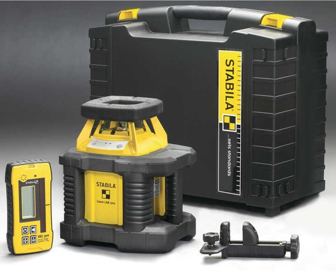 Stabila LAR200 SELF LEVELING LASER BASIC KIT STA05510