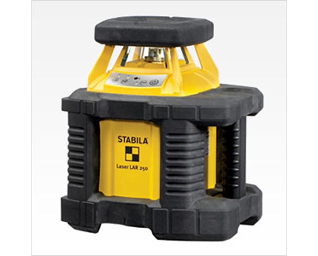 Stabila LAR250 INTERIOR/EXTERIOR LASER COMPLETE KIT STA05600