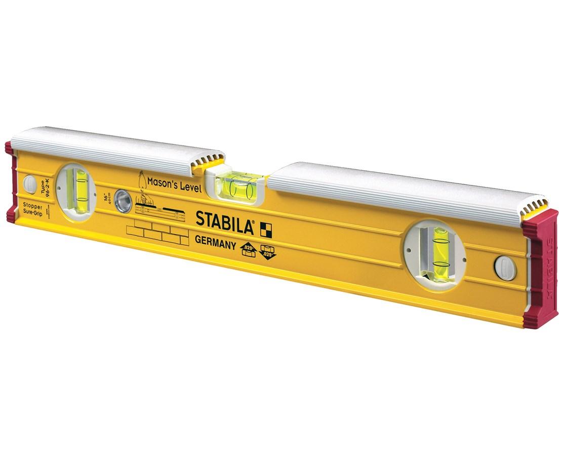 Stabila MASONS LEVEL MODEL 196-2K W/SHIELD STA364XX