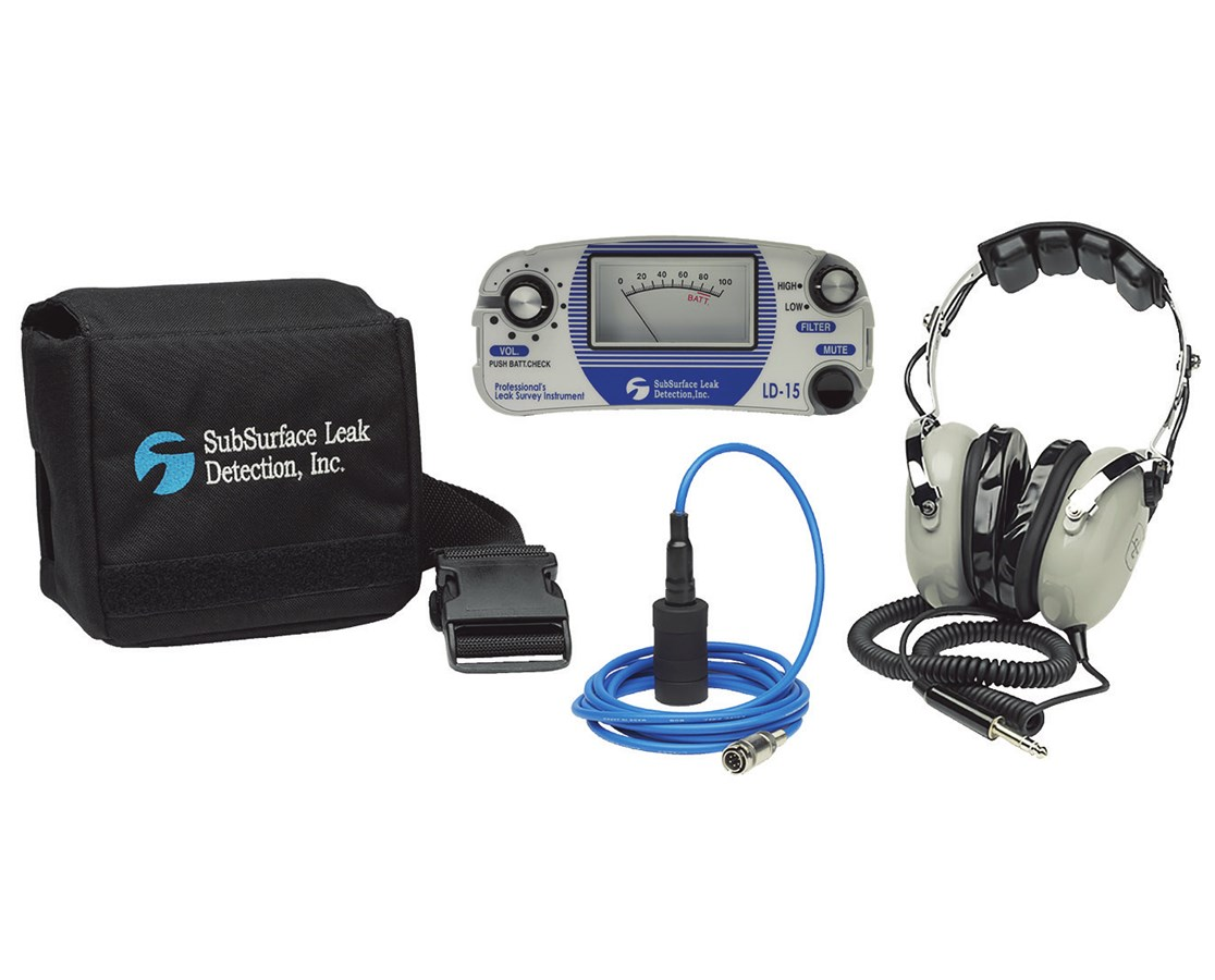 SubSurface Instruments LD-15 Professional Leak Survey Equipment SUBLD-15