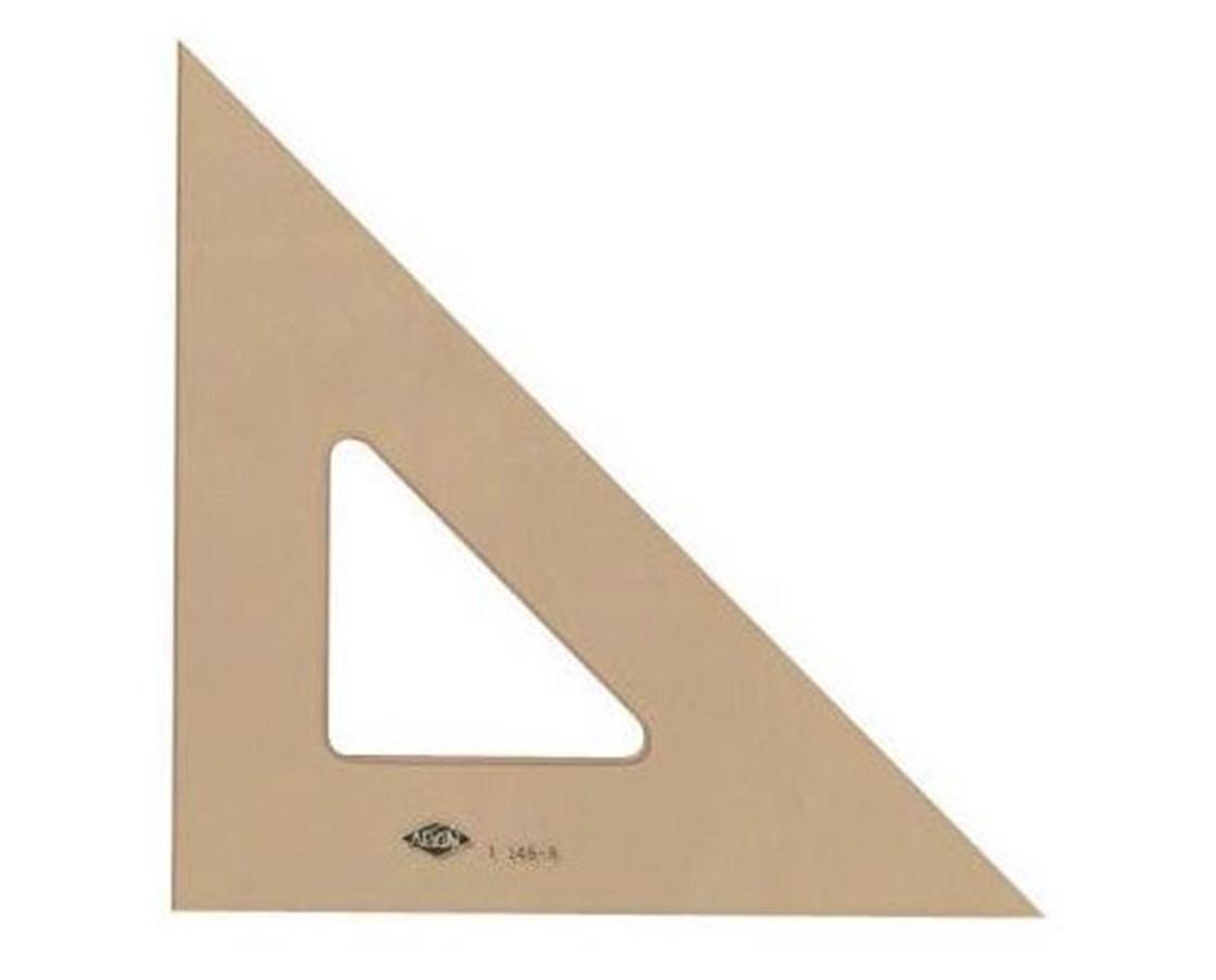 ALVIN Professional Topaz Triangles 45/90 12in T145-1200