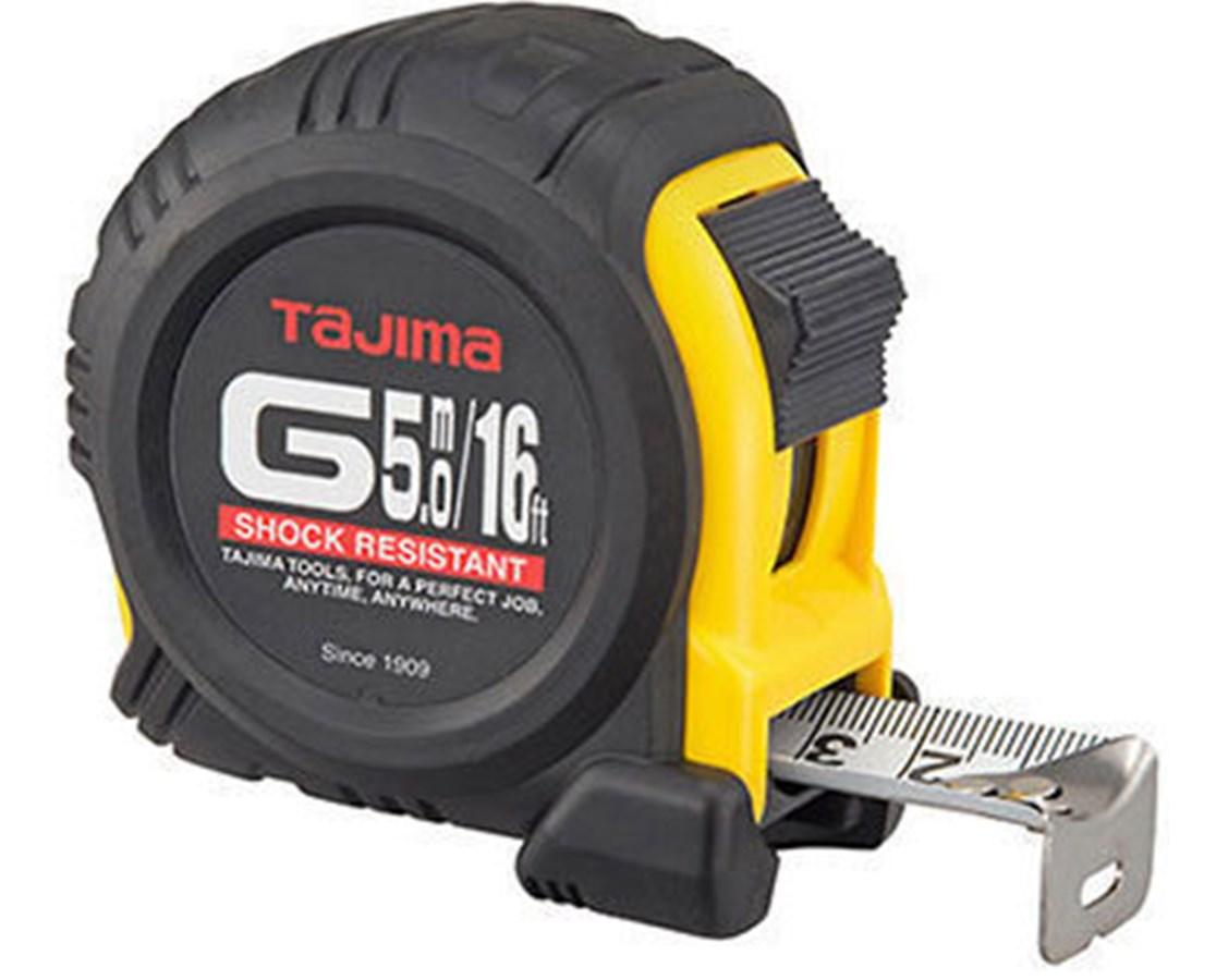Tajima  G-Series Dual Scale Standard And Metric Tape Measure TAJG-16-5MBW-