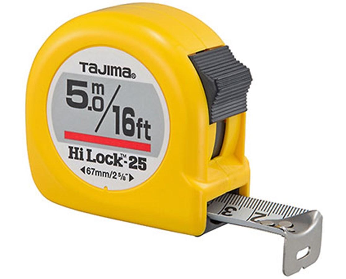 Tajima Hi-Lock Dual Scale Tape Measure TAJHL-16-5BW-