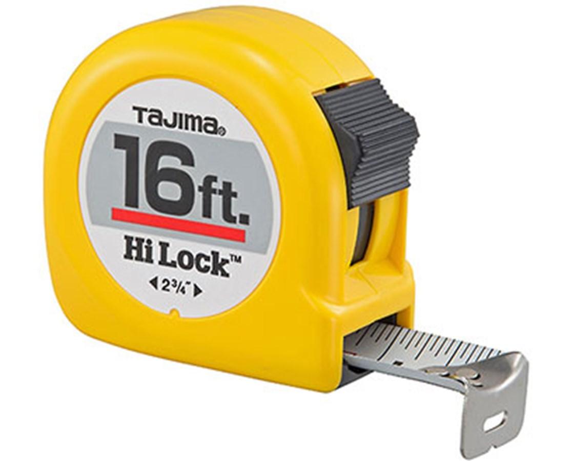 Tajima Hi-Lock Standard Scale Tape Measure TAJHL-16BW-
