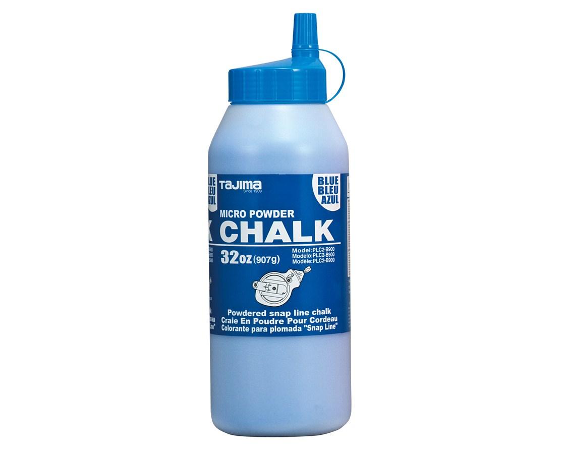 Tajima Micro Chalk, ultra-fine chalk, easy-fill nozzle, 907g / 32 oz. TAJPLC2-B900