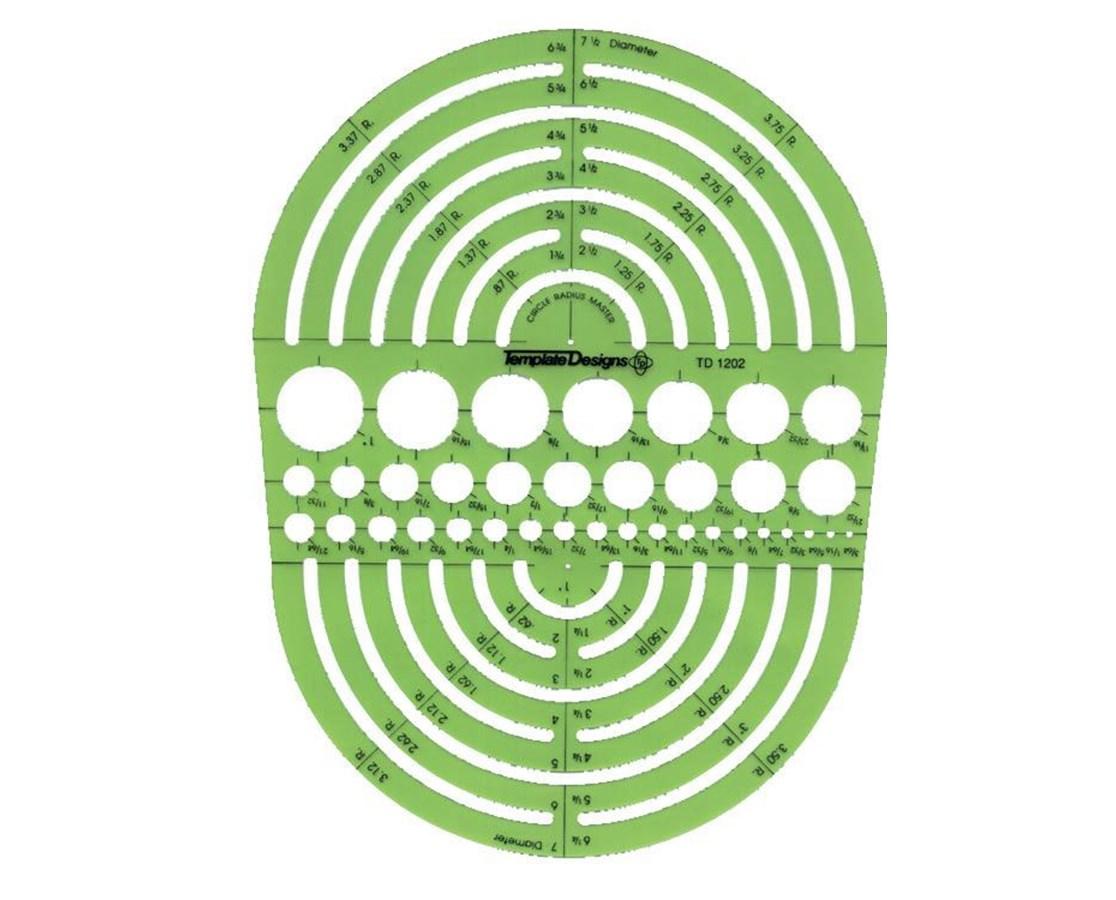 CIRCLE RADIUS MASTER TD1202