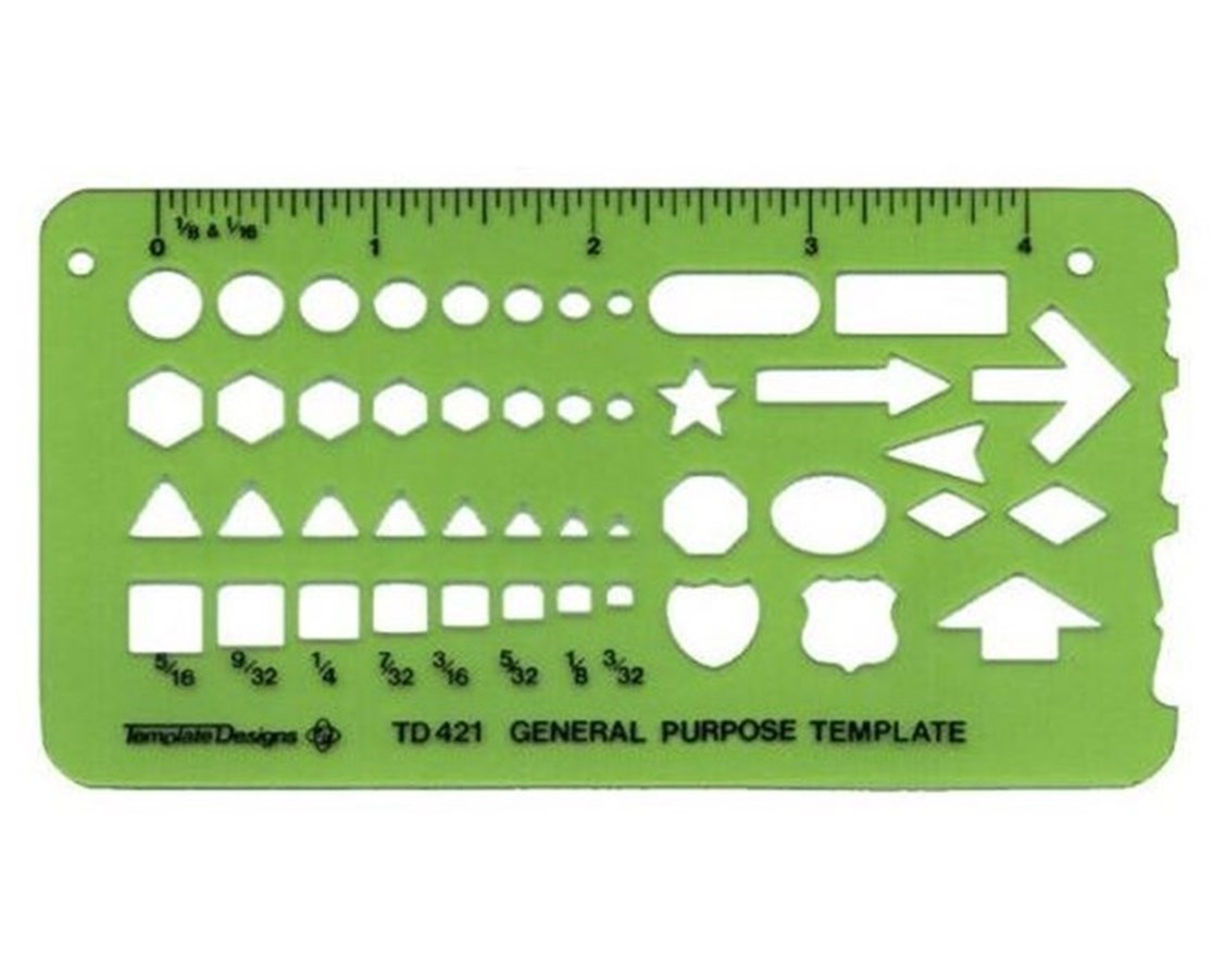 All-Purpose Pocket Template TD421