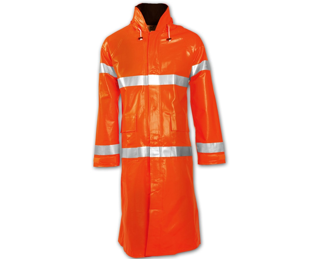 48 Inches Fluorescent Orange Red Coat C42129