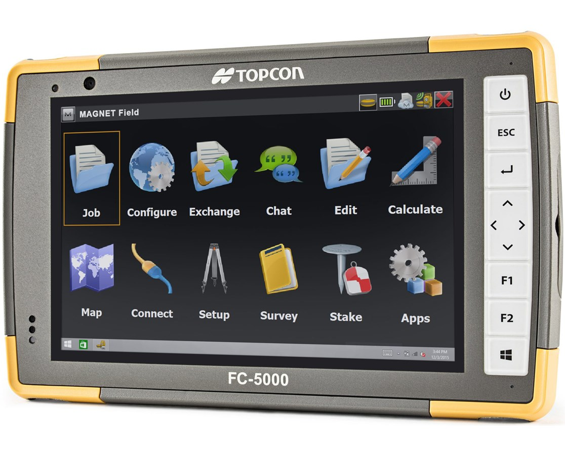 topcon fc 5000 field controller 1010084 01 tiger supplies. Black Bedroom Furniture Sets. Home Design Ideas