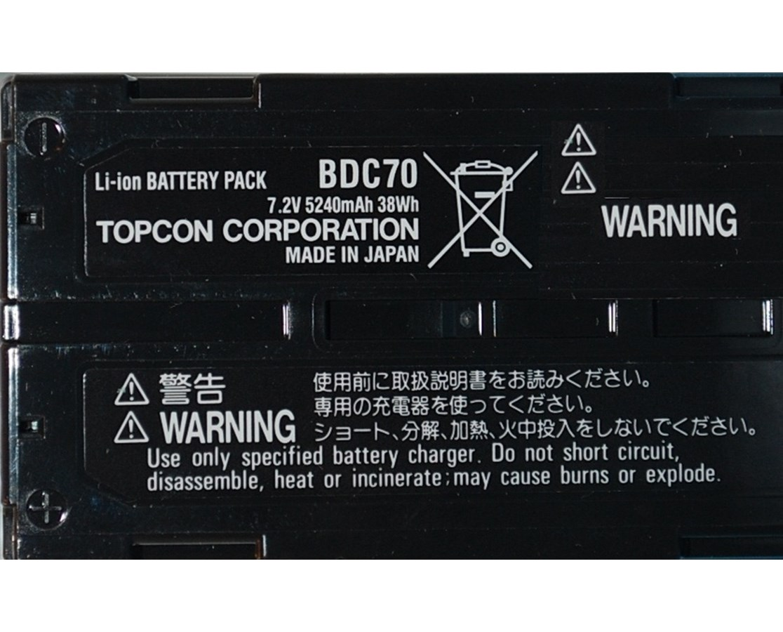 Topcon BDC70 Detachable Li-ion Battery TOP221007000
